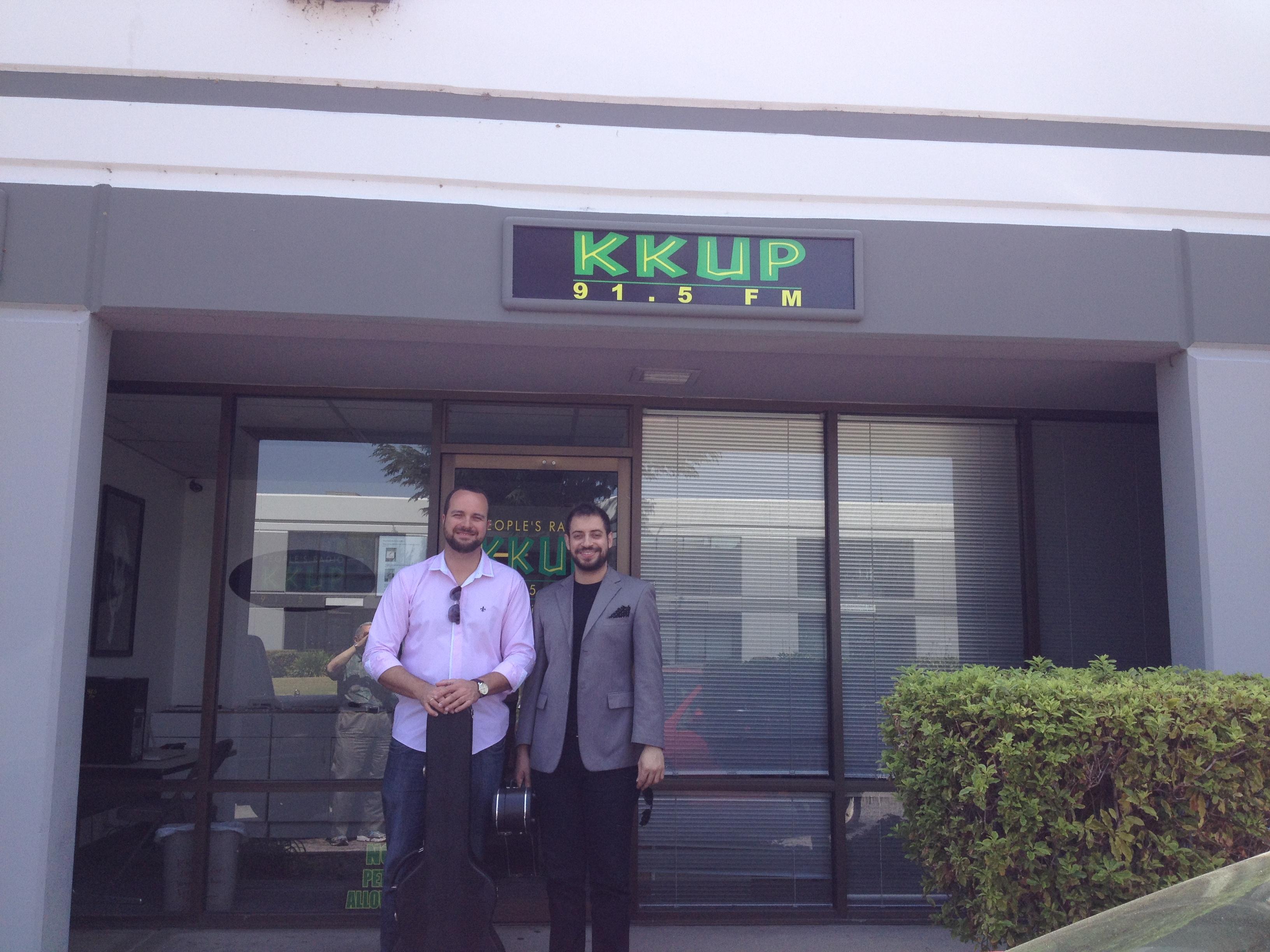 Entrevista à Rádio KKUP FM