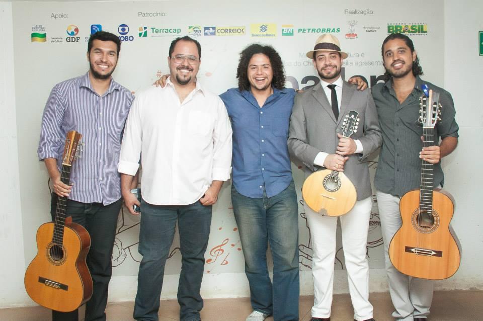 Clube do Choro BSB, com George Costa, Valerinho Xavier, Márcio Marinho e Henrique Neto