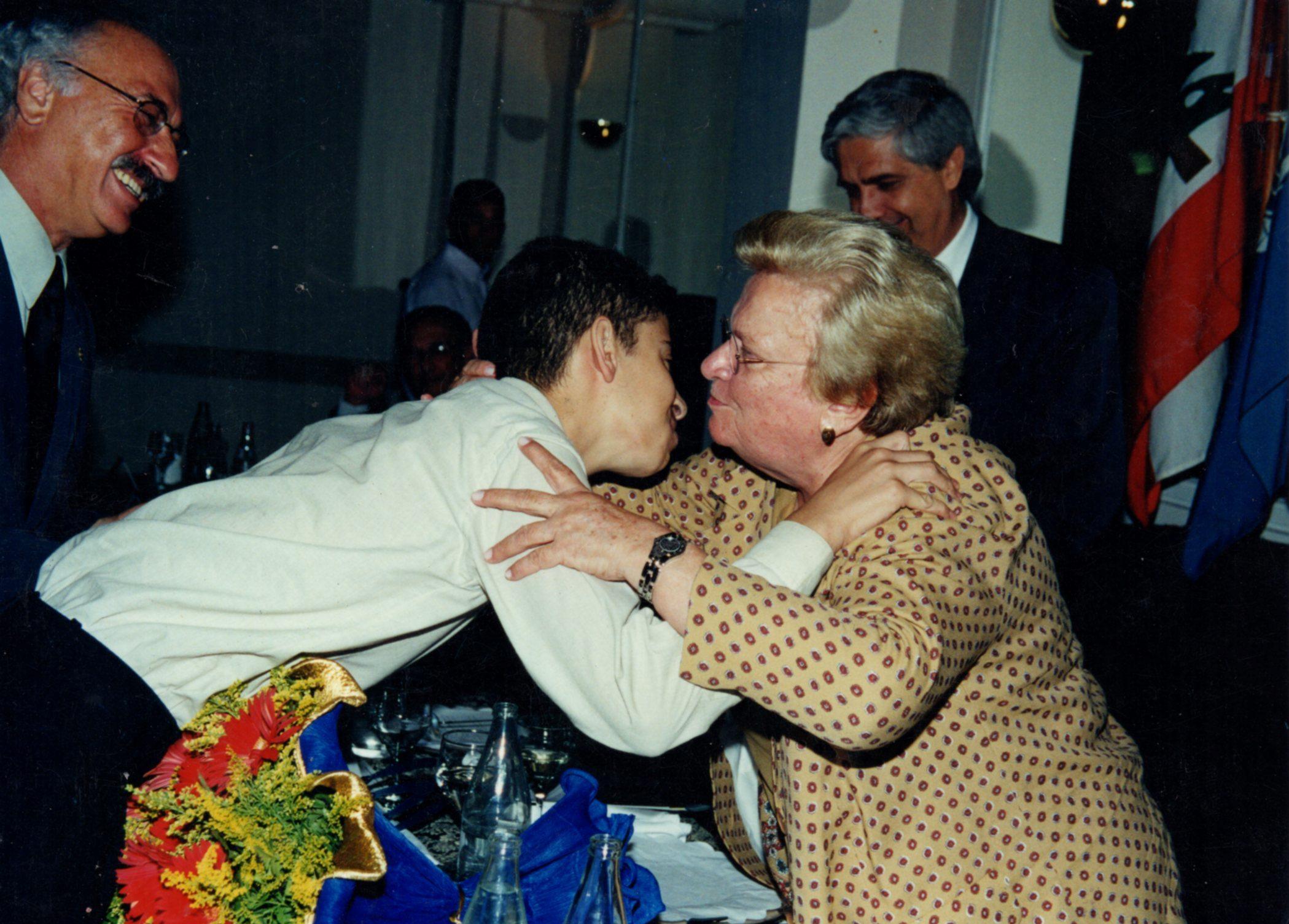 Com a prefeita Luiza Erundina