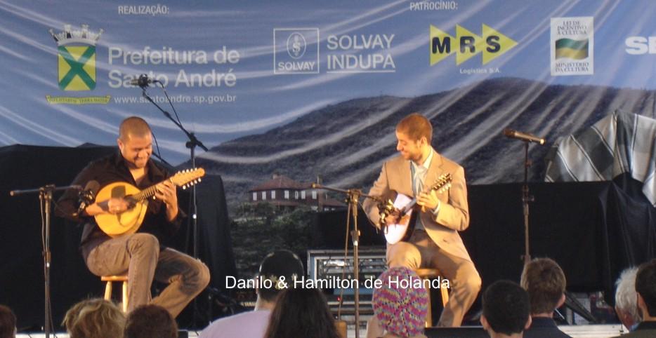 Duo com Hamilton de Holanda, no Festival de Paranapiacaba