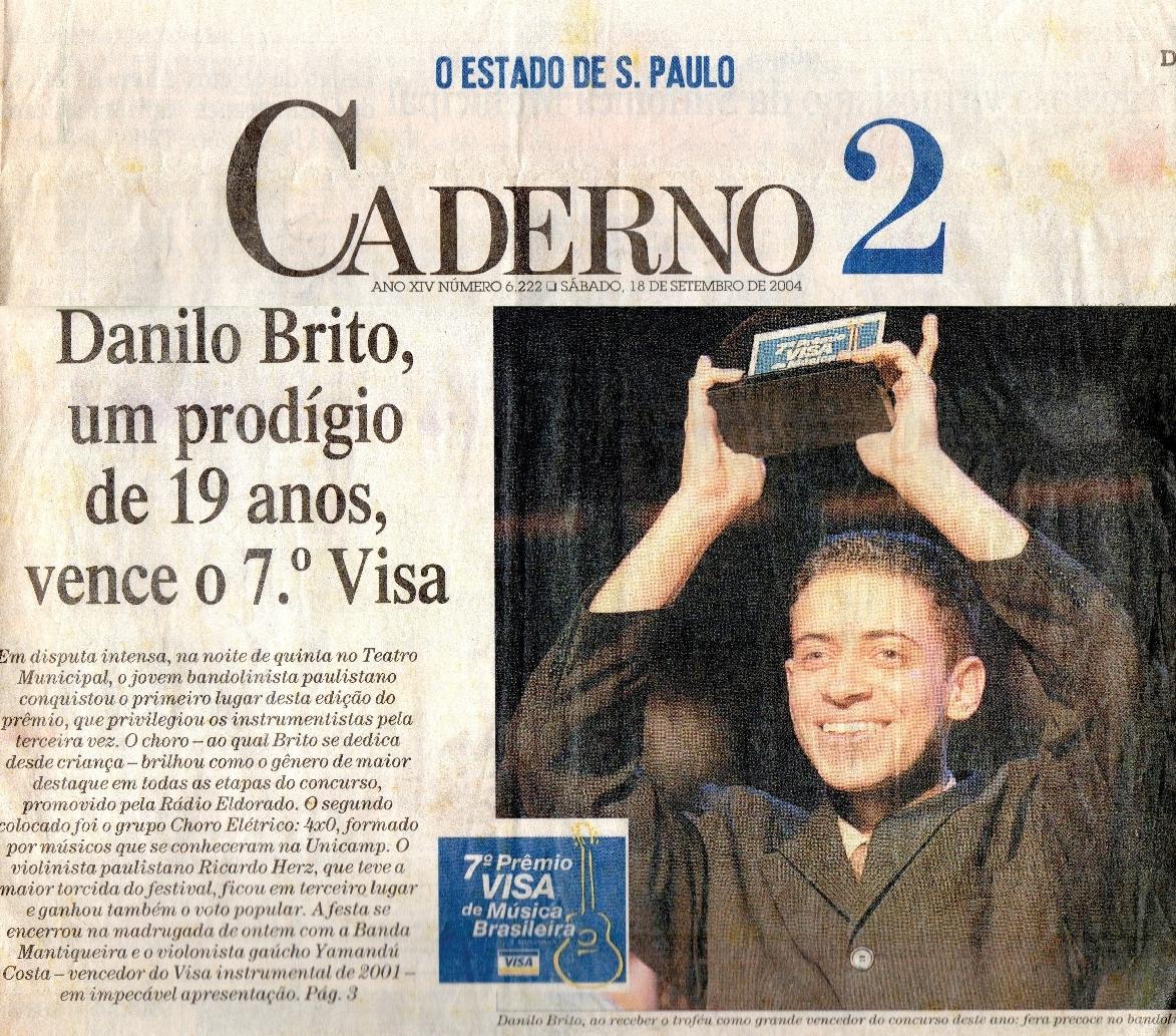 Danilo Brito, um prodígio de 19 anos, vence o 7o Visa